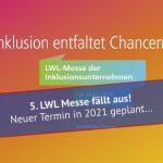 LWL-Messe 2020 - Ausfallmeldung