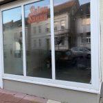 LKS Standort Blomberg CafeSatz, Baustelle, Schaufenster