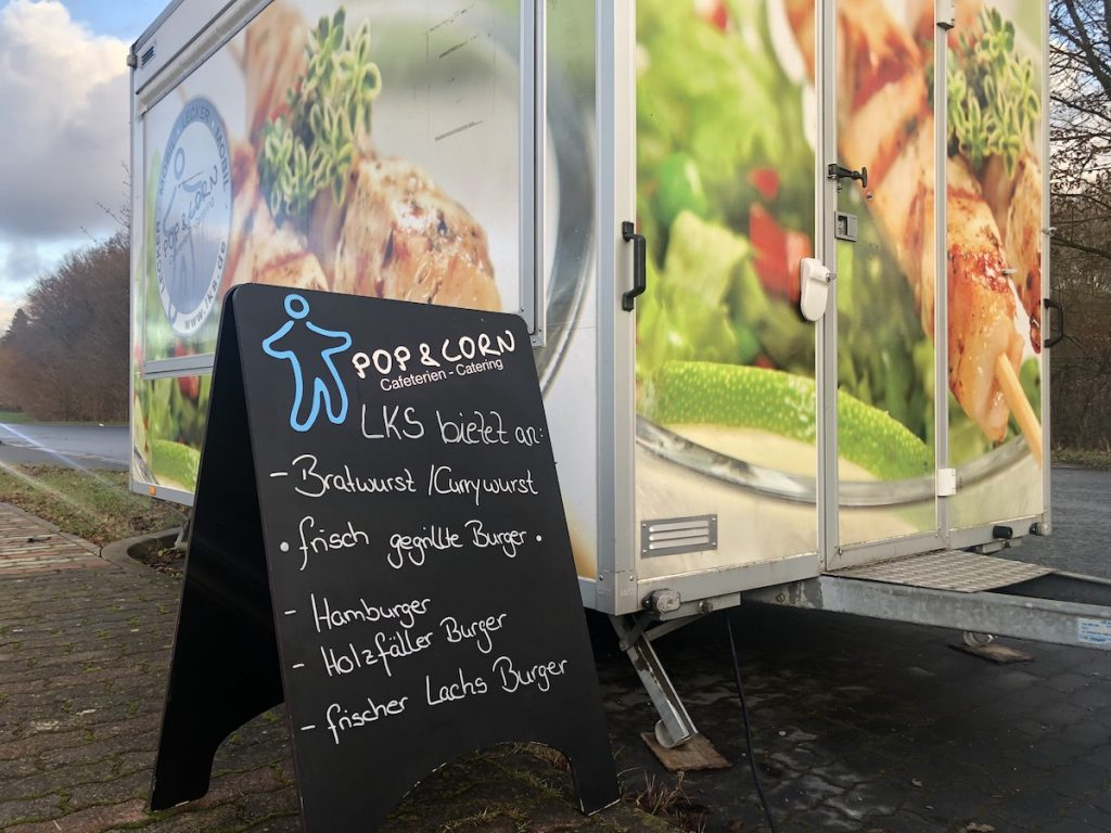 LKS-Foodtruck Standort Blomberg